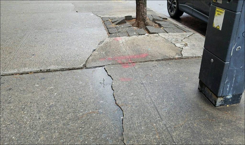 DOT Sidewalk Violation